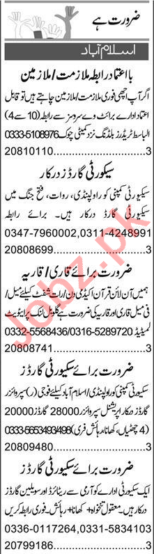 Accounts Manager & Finance Manager Jobs 2021 in Islamabad