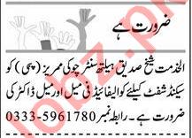 Male & Female Doctor Jobs 2021 in Peshawar