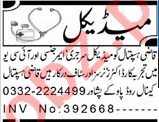 Medical Officer & Staff Nurse Jobs 2021 in Peshawar