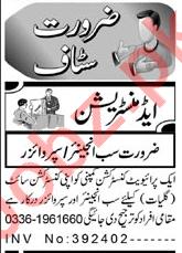 Sub Engineer & Supervisor Jobs 2021 in Peshawar