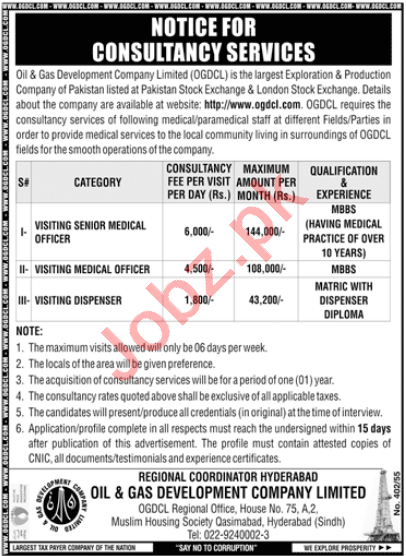 Oil & Gas Development Company OGDCL Hyderabad Jobs 2021