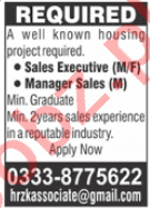 Sales Executive & Manager Sales Jobs 2021 in Lahore