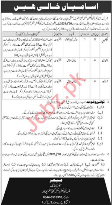 Fixed Communication Signal Company Jhelum Jobs 2021 Drivers