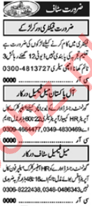 Call Operator & Assistant Manager Jobs 2021 in Lahore