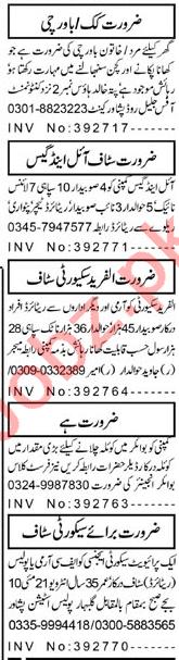 Security Staff & House Staff Jobs 2021 in Peshawar