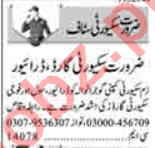 Security Manager & Security Guard Jobs 2021 in Lahore