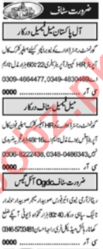 Lab Assistant & QA Analyst Jobs 2021 in Lahore