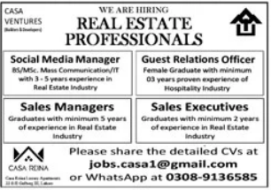 Mehta Brothers Pvt Limited Jobs 2021 in Lahore