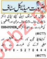 Nawaiwaqt Sunday Classified Ads 30 May 2021 Medical Staff