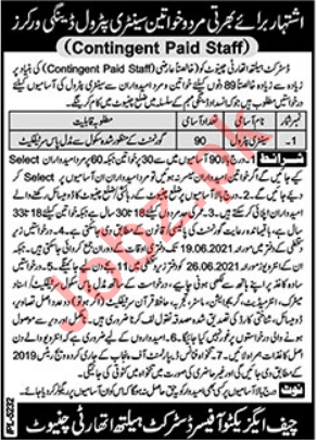 District Health Authority DHA Chiniot Jobs 2021