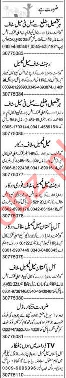 Lab Assistant & Office Assistant Jobs 2021 in Lahore