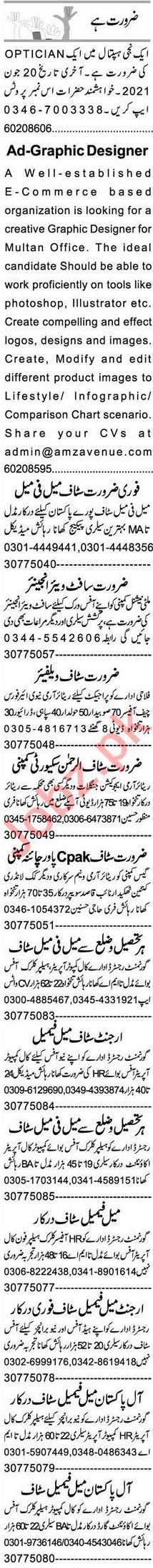 Software Engineer & Graphic Designer Jobs 2021 in Multan