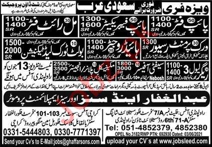 Mechanical Engineer & Rigger Jobs 2021 in Saudi Arabia