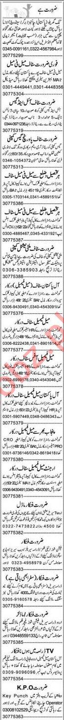 Accountant & Secretary Jobs 2021 in Lahore