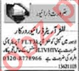 Dunya Sunday Classified Ads 13 June 2021 for Driving Staff