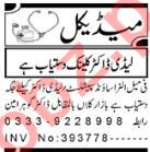 Aaj Sunday Classified Ads 13 June 2021 for Medical Staff