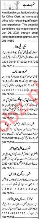 Garments Manager & Accountant Jobs 2021 in Lahore