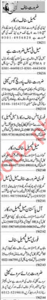 Receptionist & Assistant Supervisor Jobs 2021 in Lahore