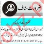 Teacher & Coordinator Jobs 2021 in Peshawar