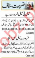 Secretary & Executive Manager Jobs 2021 in Lahore
