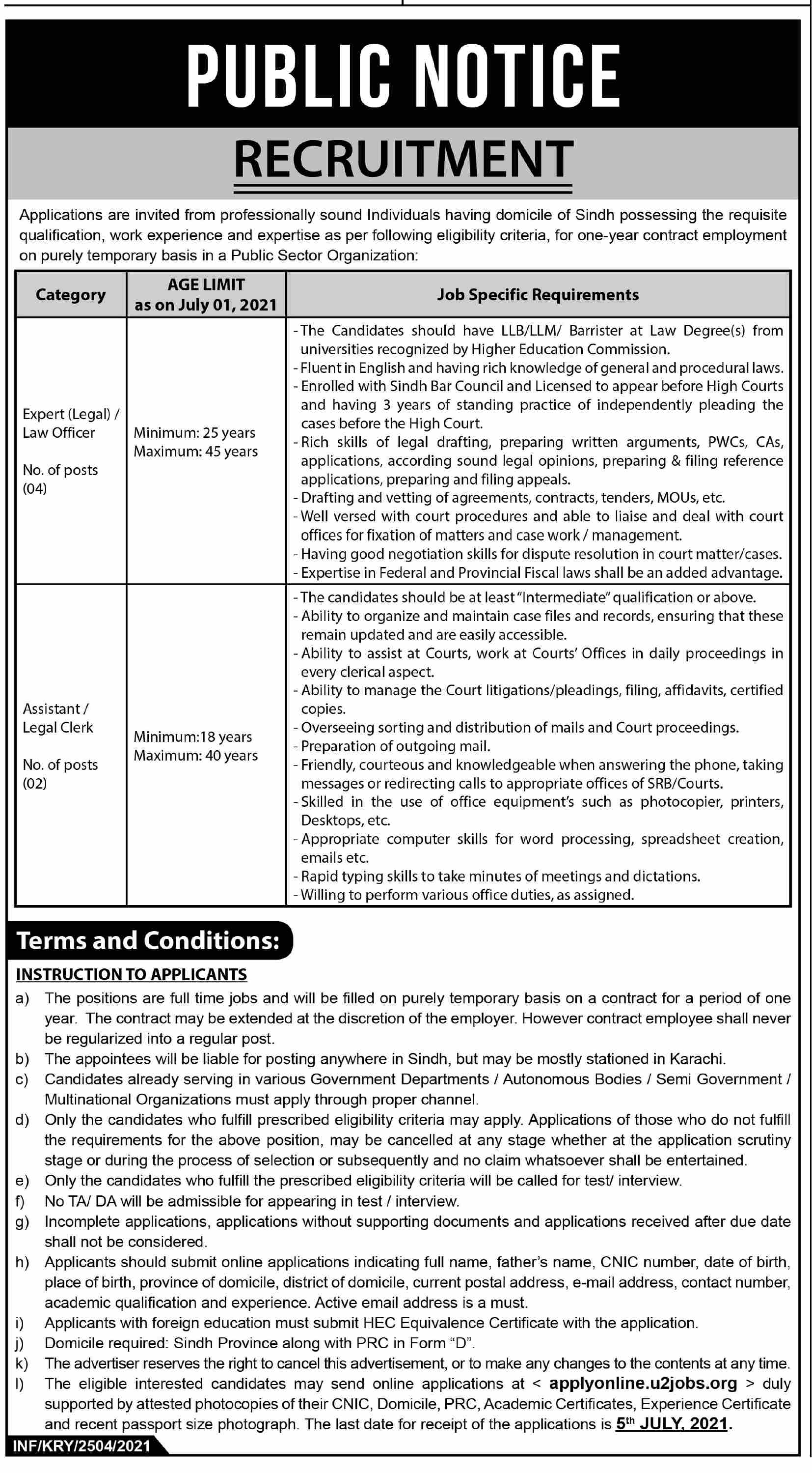 Communication & Works Department C&W Balochistan Jobs 2021