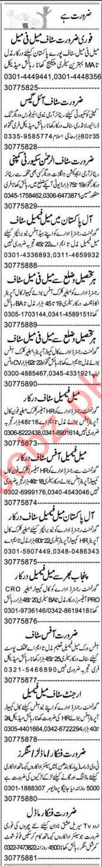Promotion Officer & Civil Supervisor Jobs 2021 in Lahore
