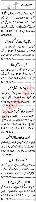 Call Operator & Data Entry Operator Jobs 2021 in Multan