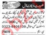 Models & Actors Jobs 2021 in Lahore
