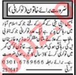 House Staff Jobs Open in Multan 2021