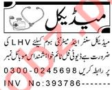 Resident Medical Officer & LHV Jobs 2021 in Peshawar