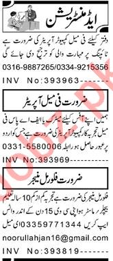 Assistant Manager & Account Manager Jobs 2021 in Peshawar