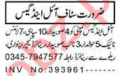 HR Officer & Waiter Jobs 2021 in Peshawar