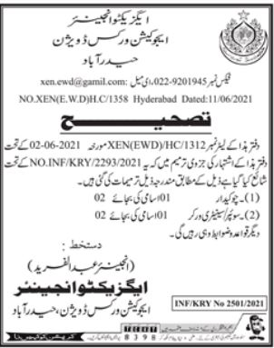 Education Works Division Hyderabad Jobs 2021