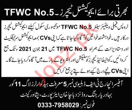 Troops Family Welfare Center TWFC Peshawar Jobs 2020