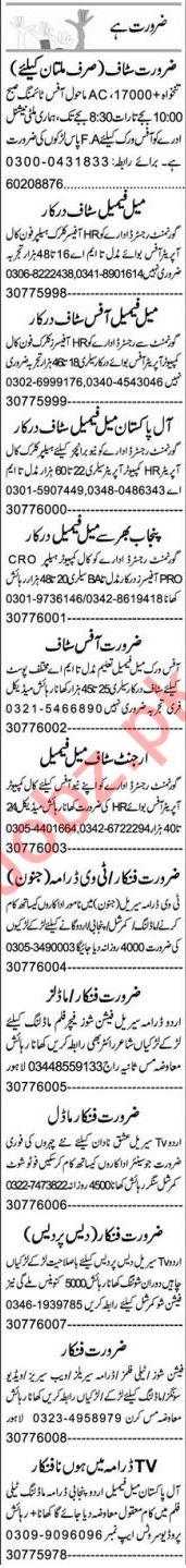 QA Analyst & Promotion Officer Jobs 2021 in Multan