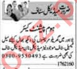 Lady Doctor & ICU Technician Jobs 2021 in Lahore