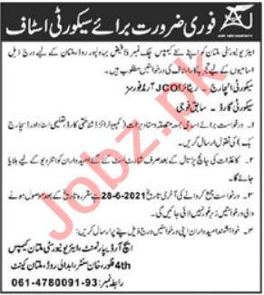 Air University Multan Campus AUMC Jobs 2021