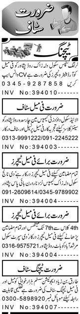 Teacher Jobs in KPK