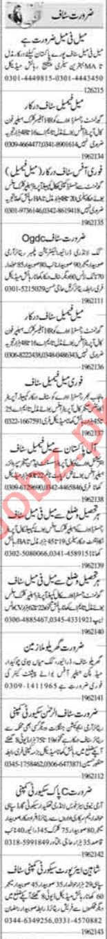 Receptionist & Telephone Operator Jobs 2021 in Islamabad