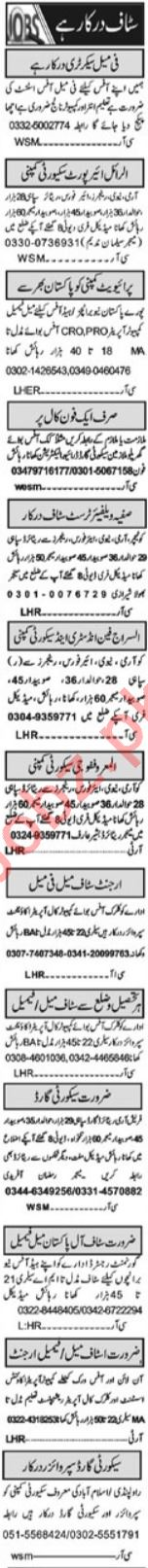 Purchase Assistant & Admin Manager Jobs 2021 in Islamabad