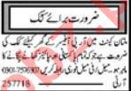House Staff Jobs Career Opportunity in Multan