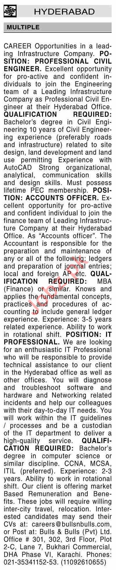Dawn Sunday Hyderabad Classified Ads 20 June 2021