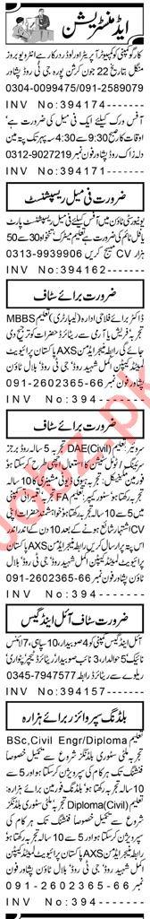 Assistant Manager & HR Officer Jobs 2021 in Peshawar