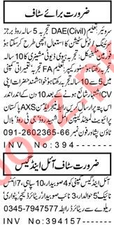 Civil Engineer & Draftsman Jobs 2021 in Peshawar