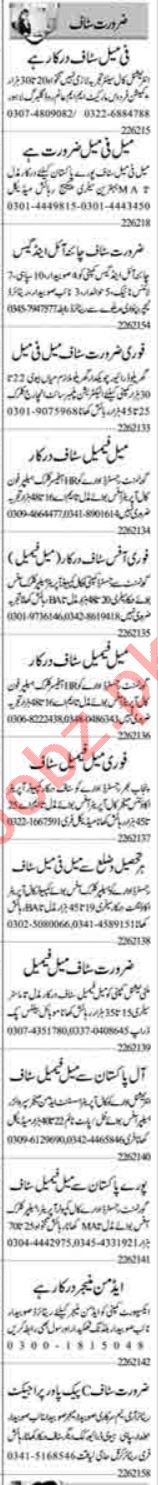 Accounts Officer & Finance Manager Jobs 2021 in Lahore