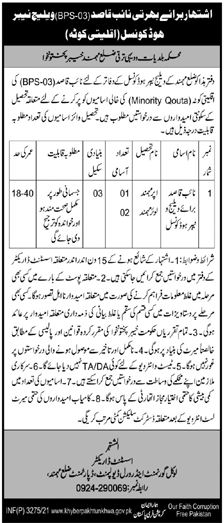 Local Government & Rural Development Department Mardan Jobs