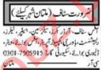 Marketing Graduate & Sales Advisor Jobs 2021 in Multan