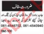 Sales Manager & Salesman Jobs 2021 in Multan