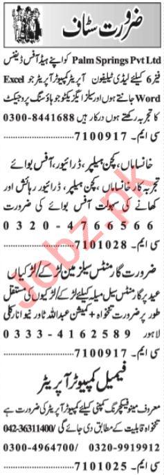 Civil Supervisor & QA Analyst Jobs 2021 in Lahore
