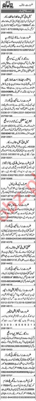 Executive Manager 7 Secretary Jobs 2021 in Islamabad